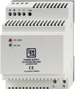 Sieťový zdroj na montážnu lištu (DIN lištu) EA Elektro-Automatik EA-PS 824-025 KSM, 1 x, 2.5 A, 60 W