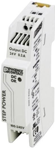 Phoenix Contact STEP-PS/1AC/24DC/0.5 Hutschienen-Netzteil (DIN-Rail) 24 V/DC 0.55 A 18 W 1 x