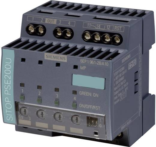 Elektronische Sicherung Siemens 6EP1961-2BA21 10 A Anzahl Ausgänge: 4 x