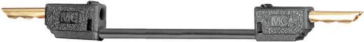 Messleitung [Lamellenstecker 2 mm - Lamellenstecker 2 mm] 0.6 m Schwarz Stäubli LK2-F 60cm sw