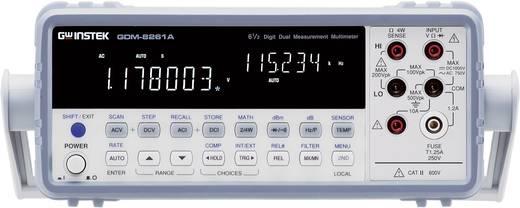 Tisch-Multimeter digital GW Instek GDM-8261A Kalibriert nach: Werksstandard (ohne Zertifikat) CAT II 600 V Anzeige (Cou