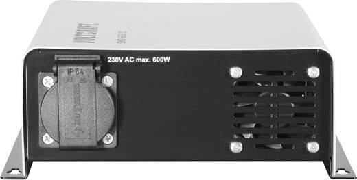 Wechselrichter VOLTCRAFT SWD-600/12 600 W 12 V/DC 12 V/DC Fernbedienbar Schraubklemmen Schutzkontakt-Steckdose