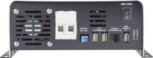 Wechselrichter VOLTCRAFT SWD-1200/24 1200 W 24 V/DC 24 V/DC Fernbedienbar Schraubklemmen Schutzkontakt-Steckdose