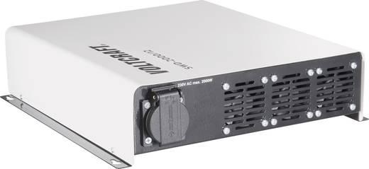 Wechselrichter VOLTCRAFT SWD-2000/12 2000 W 12 V/DC 12 V/DC Fernbedienbar Schraubklemmen Schutzkontakt-Steckdose