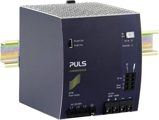 PULS DIMENSION QT40.481 Hutschienen-Netzteil (DIN-Rail) 48 V/DC 20 A 960 W 1 x