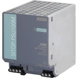 Sieťový zdroj na montážnu lištu (DIN lištu) Siemens SITOP PSU100M 24V/20A, 1 x, 24 V/DC, 20 A, 480 W