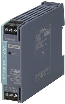 Zdroj na DIN lištu Siemens SITOP PSU100C, 24 V/DC, 0,6 A