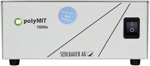 Sedlbauer polyMIT 1000e Medizinischer Trenn-Transformator Labor-Trenn-Transformator 1000 VA 115/230 V/AC, Trenntrafo