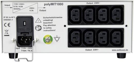 Labor-Trenntrafo Festspannung Sedlbauer polyMIT 1700e 1700 VA Anzahl Ausgänge: 8 x 230 V/AC Kalibriert nach Werksstandar