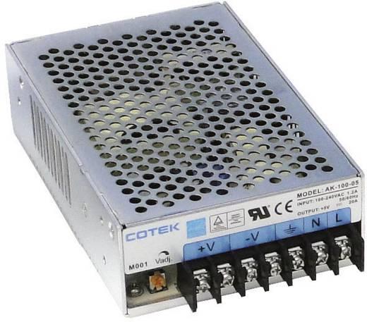 AC/DC-Einbaunetzteil Cotek AK 100-05 5.5 V/DC 20 A 100 W