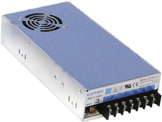 AC/DC-Einbaunetzteil Cotek AK 200-15 16.5 V/DC 13.4 A 200 W