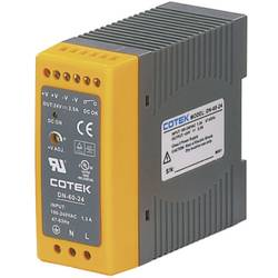 Sieťový zdroj na montážnu lištu (DIN lištu) Cotek DN 60-12, 1 x, 12 V/DC, 5 A, 60 W