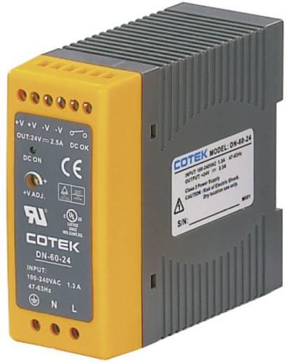 Hutschienen-Netzteil (DIN-Rail) Cotek DN 60-48 48 V/DC 1.25 A 60 W 1 x