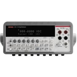 Digitálne/y stolný multimeter Keithley 2100/230-240-ISO, Kalibrované podľa (ISO)