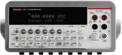 Multimètre de table numérique Keithley 2100/230-240 CAT II 600 V Affichage (nombre de points):1000000