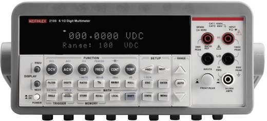 Tisch-Multimeter digital Keithley 2100/230-240 Kalibriert nach: ISO CAT II 600 V Anzeige (Counts): 1000000