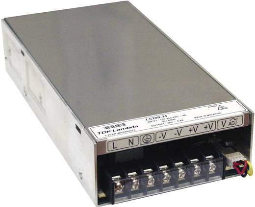 AC/DC-Einbaunetzteil TDK-Lambda LS-200-7.5 8.2 V/DC 26.7 A 200 W