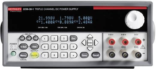 Keithley 2230-30-1 Labornetzgerät, einstellbar 0 - 30 V/DC 0 - 1.5 A 120 W Anzahl Ausgänge 3 x Kalibriert nach DAkkS
