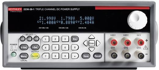 Labornetzgerät, einstellbar Keithley 2230-30-1 0 - 30 V/DC 0 - 1.5 A 120 W Anzahl Ausgänge 3 x Kalibriert nach DAkkS