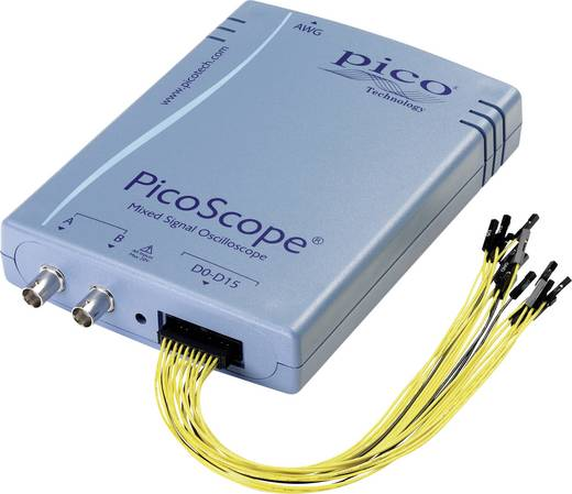 USB-Oszilloskop pico PP860 100 MHz 18-Kanal 250 MSa/s 32 Mpts 8 Bit Kalibriert nach ISO Digital-Speicher (DSO), Funktion