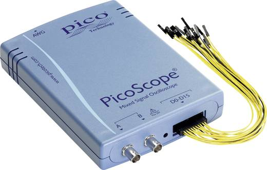 USB-Oszilloskop pico PP860 100 MHz 18-Kanal 250 MSa/s 32 Mpts 8 Bit Kalibriert nach ISO Digital-Speicher (DSO), Funktion