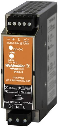 Hutschienen-Netzteil (DIN-Rail) Weidmüller CP T SNT 90W 24V 3,8A 28 V/DC 3.8 A 90 W 1 x
