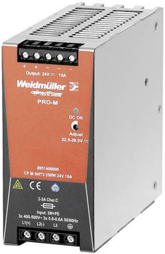 Weidmüller CP M SNT3 250W 24V 10A Hutschienen-Netzteil (DIN-Rail) 24 V/DC 10 A 240 W 1 x