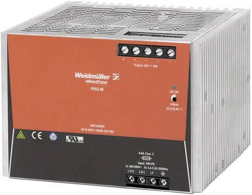 Hutschienen-Netzteil (DIN-Rail) Weidmüller CP M SNT3 1000W 24V 40A 24 V/DC 40 A 960 W 1 x