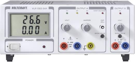 Labornetzgerät, einstellbar VOLTCRAFT VLP 1303 OVP 0 - 30 V/DC 0 - 3 A 102 W OVP Anzahl Ausgänge 2 x Kalibriert nach DA