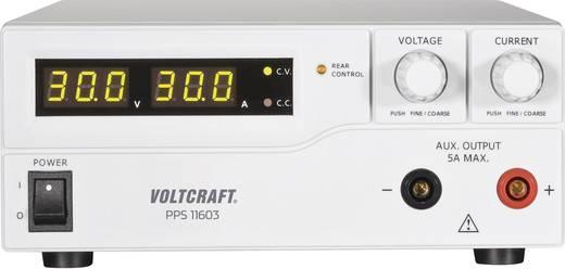 Labornetzgerät, einstellbar VOLTCRAFT PPS-11603 1 - 60 V/DC 0 - 2.5 A 160 W USB, Remote programmierbar Anzahl Ausgänge 2
