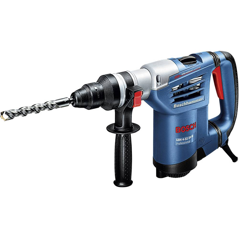 bosch professional gbh 4 32 dfr sds plus hammer drill 900 w incl case from. Black Bedroom Furniture Sets. Home Design Ideas