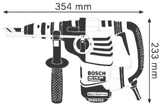 Bosch Professional GBH 3-28 DFR SDS-Plus-Bohrhammer 800 W inkl. Koffer