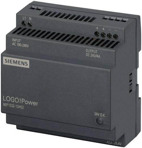 Hutschienen-Netzteil (DIN-Rail) Siemens LOGO!Puissance : 24 V, 4 A 24 V/DC 4 A 96 W 1 x