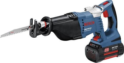 Akku-Säbelsäge inkl. 2. Akku, inkl. Koffer 36 V 2.6 Ah Bosch Professional GSA 36 V-LI
