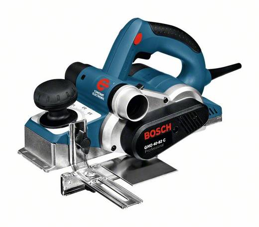 Elektrohobel inkl. Koffer Hobel-Breite: 82 mm 850 W Bosch GHO 40-82 C Falztiefe (max.): 24 mm