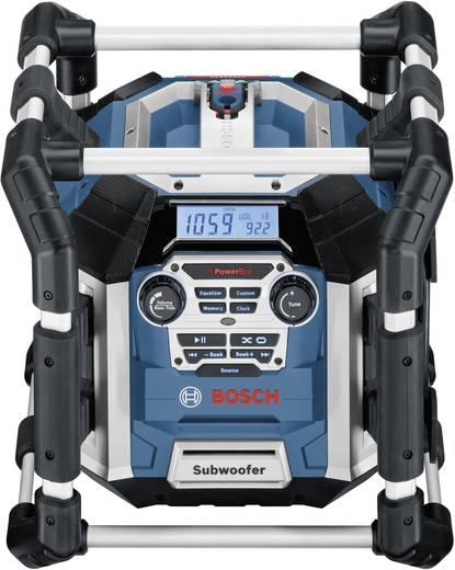 UKW Baustellenradio Bosch Professional GML 50 Blau, Schwarz