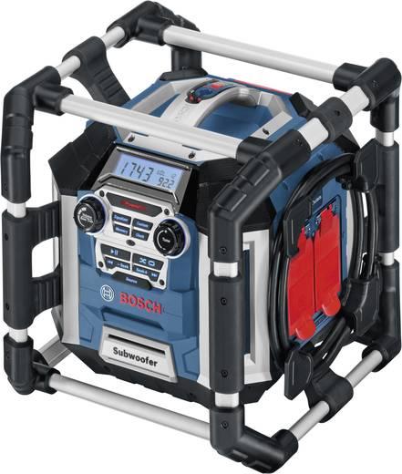 UKW Baustellenradio Bosch GML 50 Blau, Schwarz