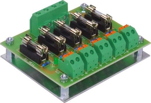 FG Elektronik UVK 5-HSH LED-Hutschienen-Sicherungsverteiler 5-fach abgesichert 0 - 40 V/DC / 5 A