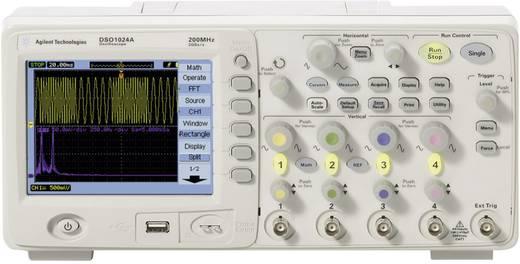 Digital-Oszilloskop Keysight Technologies DSO1014A 100 MHz 4-Kanal 2 GSa/s 20 kpts 8 Bit Kalibriert nach ISO Digital-Spe