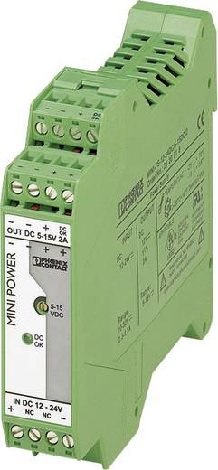 Hutschienen-Netzteil (DIN-Rail) Phoenix Contact MINI-PS-12-24DC/5-15DC/2 2 A 1 x