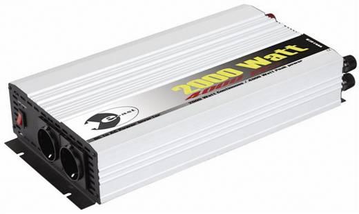 Wechselrichter e-ast HPL 2000-24 2000 W 24 V/DC 24 V/DC (22 - 28 V) Schraubklemmen Schutzkontakt-Steckdose