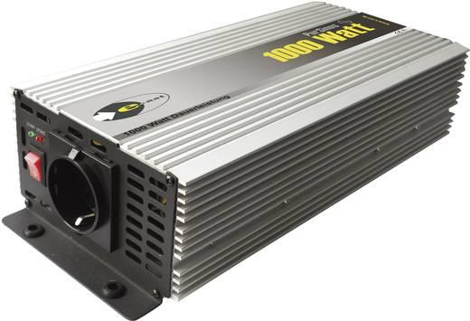 Wechselrichter e-ast HighPowerSinus HPLS 1000-12 1000 W 12 V/DC 12 V/DC (11 - 15 V) Schraubklemmen Schutzkontakt-Steckd