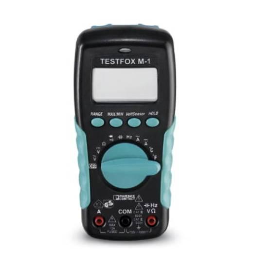 Hand-Multimeter digital Phoenix Contact TESTFOX M-1 Kalibriert nach: Werksstandard (ohne Zertifikat) CAT II 1000 V, CAT