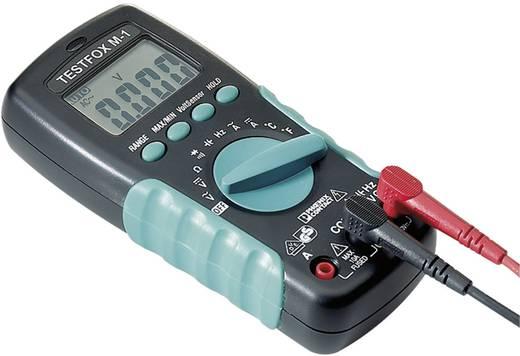 Hand-Multimeter digital Phoenix Contact TESTFOX M-1 Kalibriert nach: Werksstandard CAT II 1000 V, CAT III 600 V Anzeige