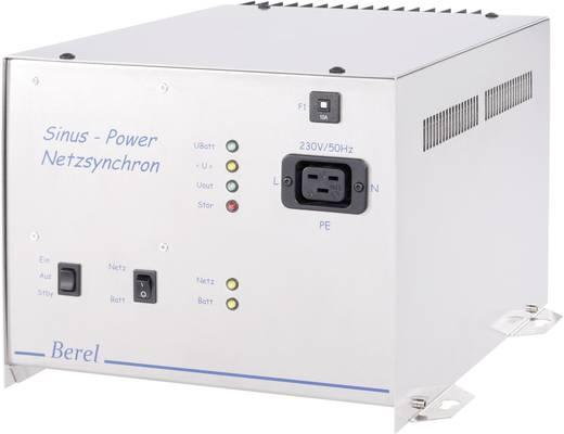 Wechselrichter Berel NUS2500/24/TI 2500 W 24 V/DC 24 V/DC USV-Funktion, Netzsynchronisierung Schraubklemmen, Kaltgeräte-