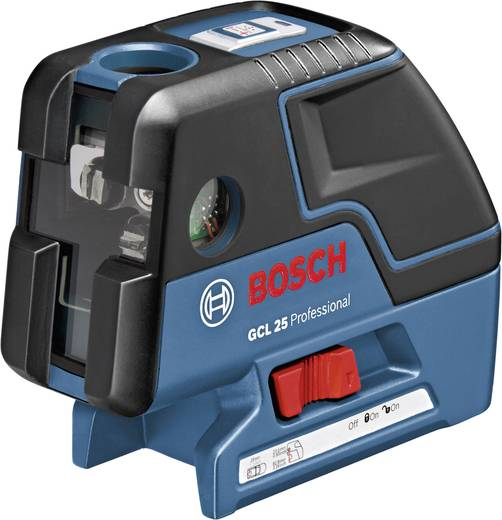 Punktlaser selbstnivellierend Bosch Professional GCL 25 + BS 150 P Kalibriert nach: Werksstandard (ohne Zertifikat)