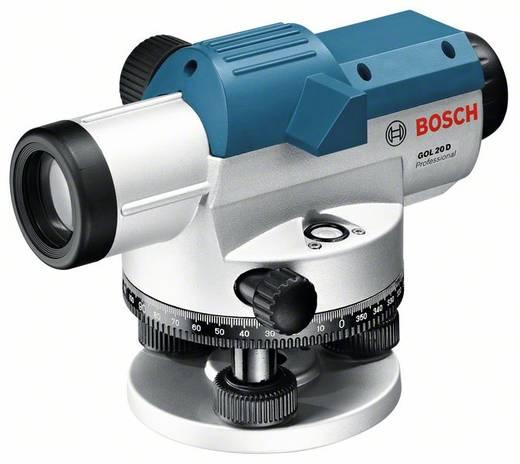Optisches Nivelliergerät Bosch Professional GOL 20 D Reichweite (max.): 60 m Optische Vergrößerung (max.): 20 x Kalibri
