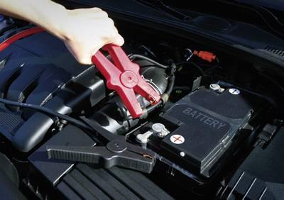 Cavi batteria per avviamento d'emergenza 34.2 mm² Alluminio (ramato) 3.50 m SP 25 con pinze di plastica, senza circuito