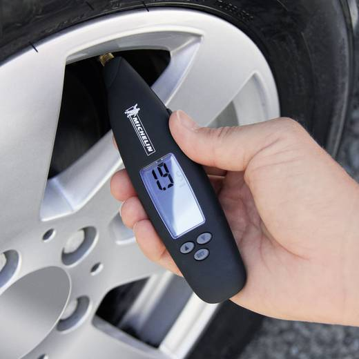 Reifendruckprüfer digital Messbereich Luftdruck 0.22 - 6.8 bar Michelin 2MIL92409