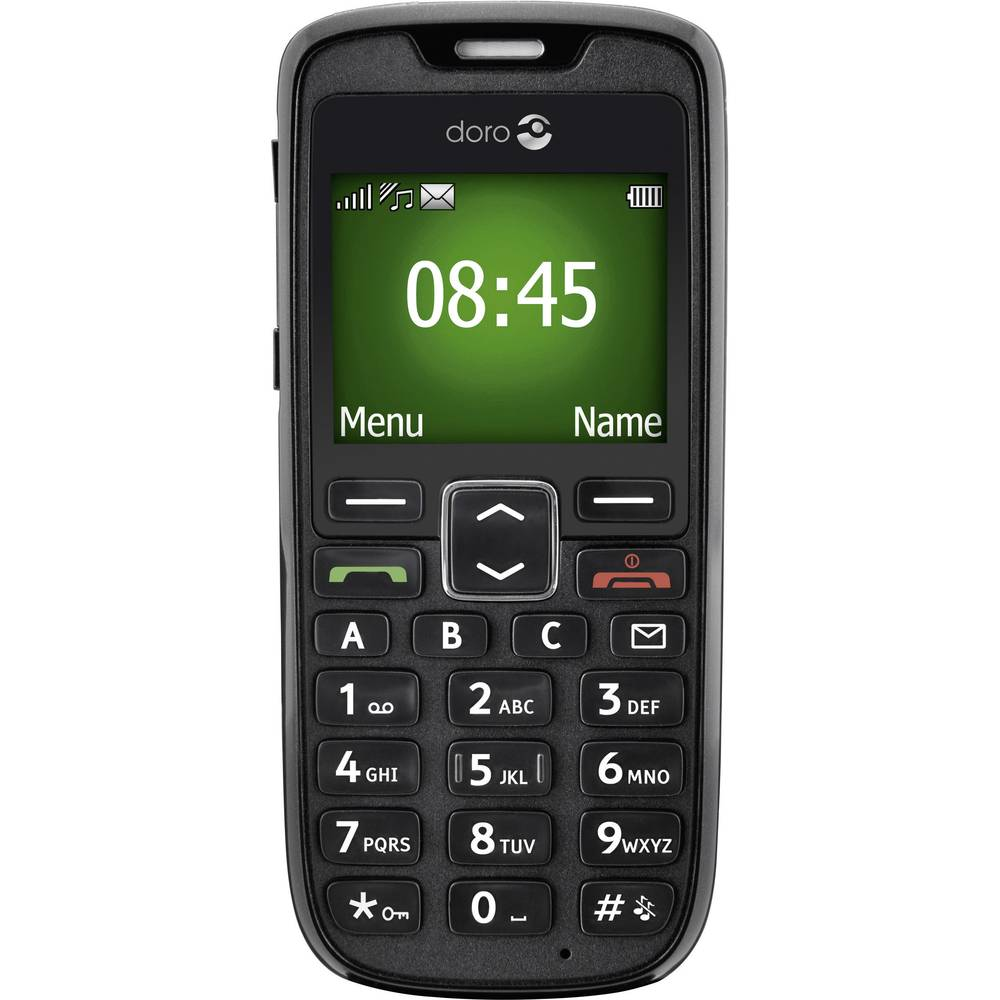 T l phone portable grandes touches doro phoneeasy 510 for Telephone portable a touches
